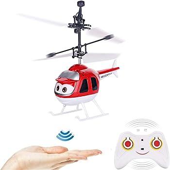 Mini helicóptero teledirigido con mando a distancia, bola de ...