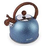 Tea Kettle, 2.3 Quart Tea Pot BELANKO Whistling Water Kettle, Food Grade Stainless Steel Teapot for...
