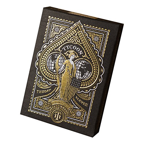Tycoon Playing Cards (Black)