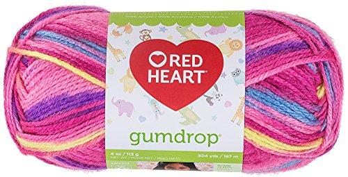 Red Heart Gumdrop - Hilo de Estambre, Cereza