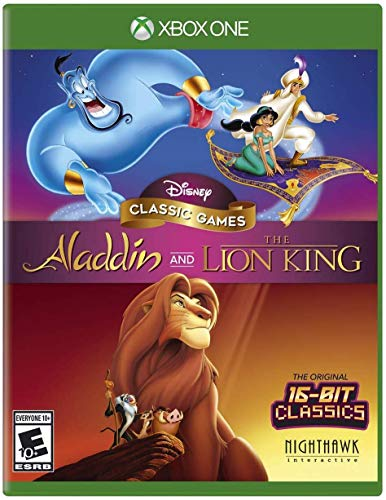 top 10 disney xbox one games Disney Classic: Aladdin and The Lion King – Xbox One