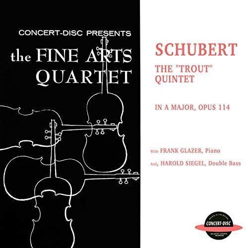The Fine Arts Quartet feat. Frank Glazer & Harold Siegel