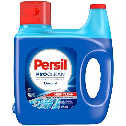 Persil ProClean Liquid Laundry Detergent, Original, 150 Fluid Ounces, 96 Loads