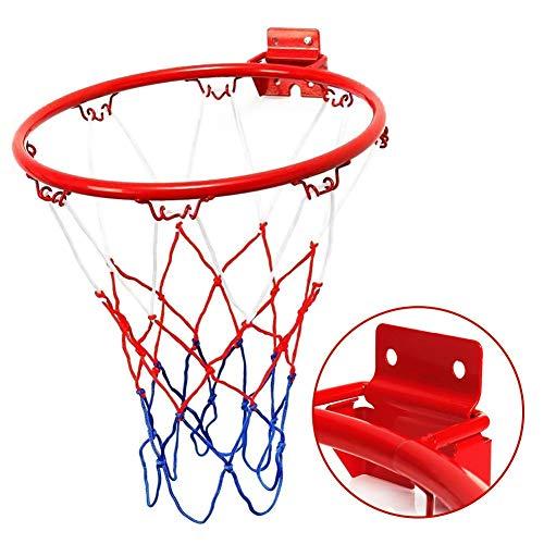 iBàste Juego de Aros de aro de Baloncesto para Colgar en la Pared con aro de Baloncesto Aro de Baloncesto Colgante