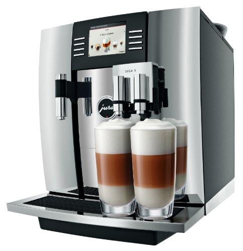 JURA GIGA 5 Chroom Independiente Máquina espresso Negro, Cromo 2,6 L 20 tazas Totalmente automática - Cafetera...