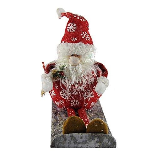 takestop® FUORIPORTA kerstslee kerstslee kerstkrans decoratie vuur deur