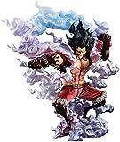 CHAOKU Retrato de una Sola Pieza de Piratas: SA-MAX Luffy SANKY Hombre LA Estatua DE ACCIÓN PVC Mejores Juguetes de colección de Regalo para los fanáticos de Anime- Alto 10.6 Pulgadas