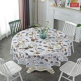 PhantasyIsland.com Mantel Rectangular, Mantel a Prueba de Manchas para la decoración de la Mesa de la Coci180CM
