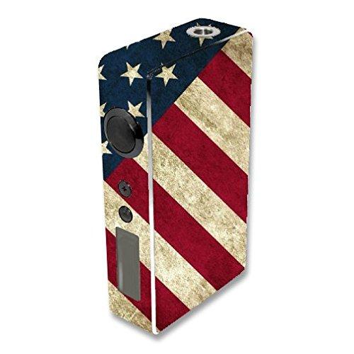 Sigelei 150W Vape E-Cig Mod Box Vinyl DECAL STICKER Skin Wrap / All American Print