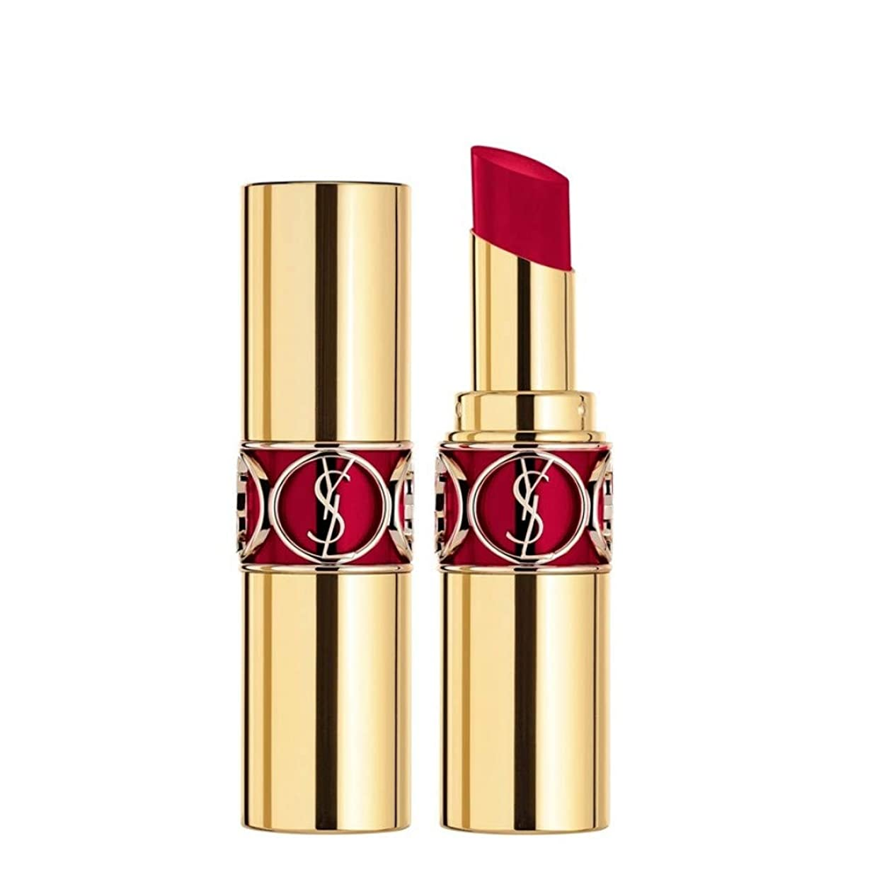 ピース行うピークイヴサンローラン Rouge Volupte Shine - # 85 Burgundy Love 4.5g/0.15oz並行輸入品