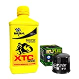 Kit tagliando 4L Bardahl XTC C60 10W40 filtro olio HifloFiltro HF138