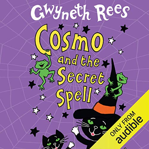 Cosmo and the Secret Spell audiobook cover art