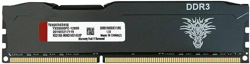 Yongxinsheng 8GB 1600MHz DDR3 DIMM PC3 Desktop General Memory Ram Iron Shell