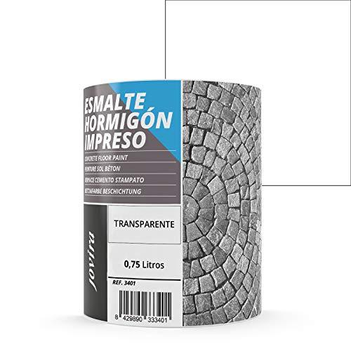 Vernice per cemento stampato, per il ripristino di pavimenti in cemento (750 ML, INCOLORE)