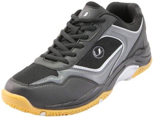 Ultrasport Sport Indoor Schuh,10068, Unisex - Erwachsene Sportschuhe - Indoor, Schwarz (Black/silver 200), EU 43