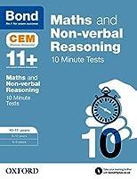 Bond 11+: Maths & Non-Verbal Reasoning: Cem 10 Minute Tests
