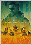 Vintage Poster Mad Max Fury Road Tom Hardy Charlize Theron