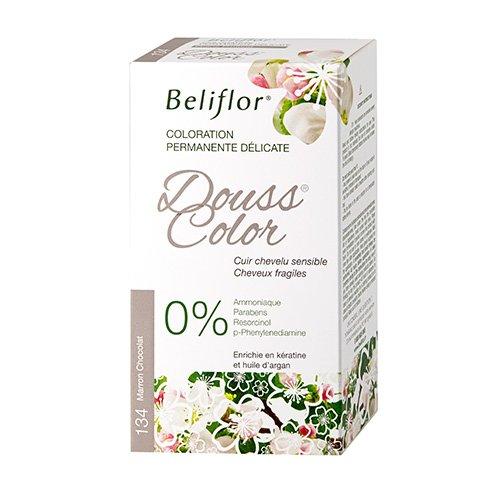 Beliflor Dousscolor Coloration Permanente N°134 Marron Chocolat 131 ml