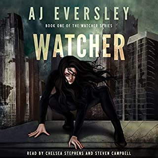 Watcher audiobook cover art
