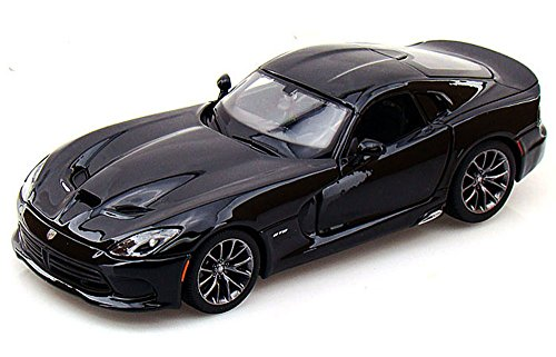 Maisto 2013 Dodge Viper SRT GTS 1/24 Scale Diecast Model Car Black