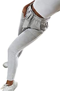 0c895f0a0028 Pantalones Mujer Vintage De Skinny Elegante Pantalones Tiempo Libre  Primavera Ropa de Fiesta Otoño Fashion Casual