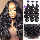 Brazilian Bundles Virgin Human Hair 14'16'18' Body Wave 3 Bundles 100% Unprocessed Virgin Human Hair Weave Brazilian Hair Bundles Faddishair