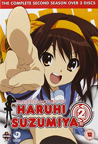 Melancholy of Haruhi Suzumiya The Complete Series 2 [Edizione: Regno Unito] [Import]
