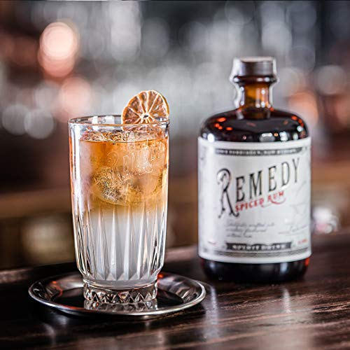Remedy Spiced Rum (1 x 0,7 l) - Gold Meinigers International Spirits Award 2019 - Feine Noten von u.a : Vanille, Orangenschalen - 6
