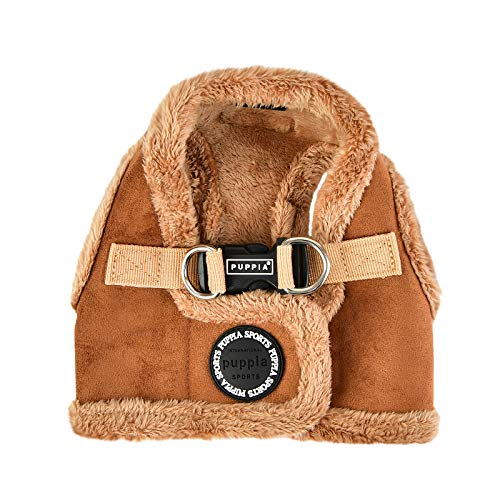 Puppia 66988822 Terry Harness B, Brown, S