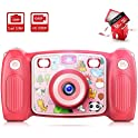 Victure Kids Rechargeable HD 1080p 12MP Digital Camera
