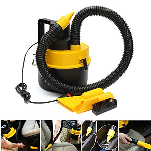 Bomden 12V Wet Dry Vac Vacuum Cleaner Inflator Portable Turbo Hand Held for Car (Ship from US)