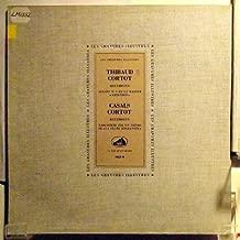 Thibaud Cortot / Casals Cortot, Beethoven, Jacques Thibaud, Violin