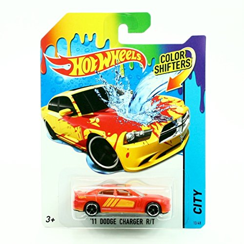 Hot Wheels Color SHIFTERS City \'11 Dodge Charger R/T 25/48 by