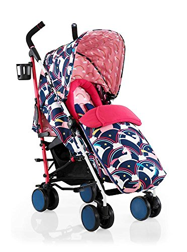 Cosatto Supa 2018 Baby Stroller, Suitable from Birth to 25 kg, Magic Unicorns