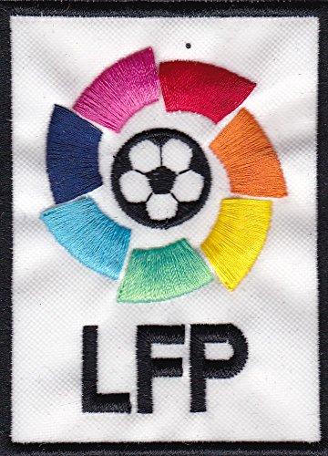 Patch Liga Futbol Profesional España cm 6x 8,5parche bordado Replica -1034