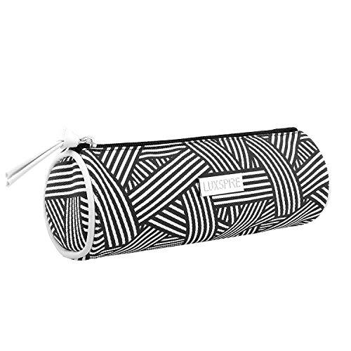 Luxspire Toilettas Cylinder zwart/wit