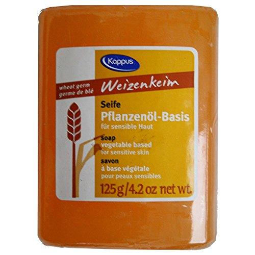 KAPPUS Weizenkeim Pflanzenölseife 125 g