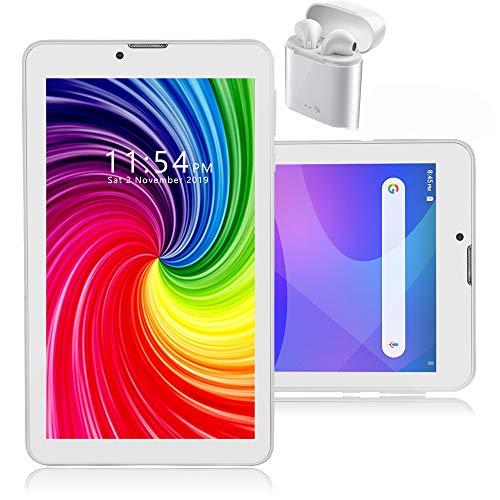 Indigi 7 pulgadas 4G LTE Android 9.0 TabletPC Smartphone WiFi Bluetooth + QuadCore, 2GB RAM/16GB ROM y Bluetooth