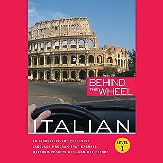 Behind the Wheel - Italian 1 audiobook cover art