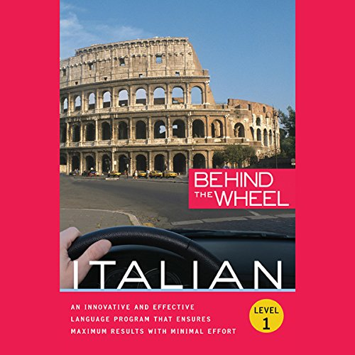 Behind the Wheel - Italian 1 audiobook cover art