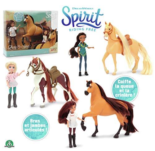 Giochi Preziosi 8056379063124 Spirit Doll en paard Ass-figuren en playset, vrouwelijk, meerkleurig