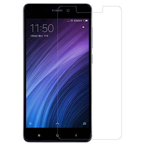 [2 Packs] Xiaomi Redmi 4X Screen Protector, Redmi 4X Tempered Glass Screen Protector, Anti-Scratch HD Screen Protector for 5.0'' Xiaomi Redmi 4X [Not fit 5.5'' Xiaomi Redmi Note 4X]