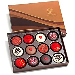 Sweet Love Chocolate Covered Oreos Dozen Gift Box