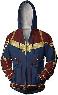 Rulercosplay Fashion Hoodie Captain Hoodie Super Hero Cosplay Costume
