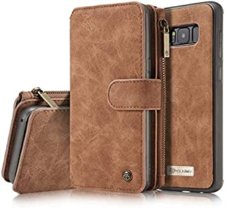 CaseMe Stand Wallet Case For samsung Galaxy S8 plus Luxury Genuine leather case Cover for galaxy S8 plus S8+ flip case coque