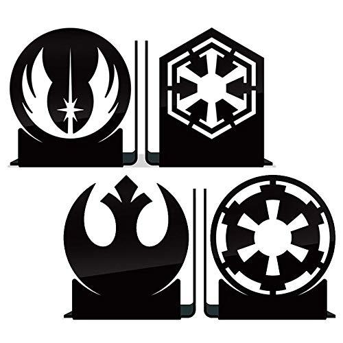 Aparadores De Livros Star Wars Jedi E Império