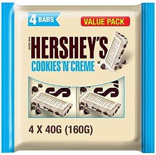 Hershey's Cookies and Cream White Chocolate, 40 gm x 4(160 gm)