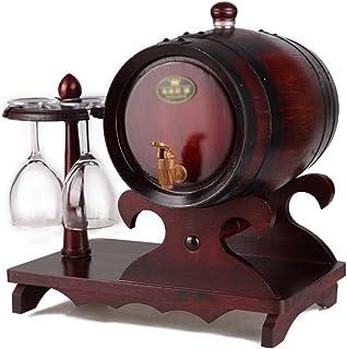 Vinification Vinification Barils Baril De Whiskey Casier À Vin De Salon Baril De Brasserie De Vin For 1,5 L, 3 L, 5 L (Col...