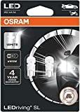 OSRAM LED Premium Retrofit W2.1x9.5d, LED-W5W, illuminazione per interni, 2850CW-02B, Cool...