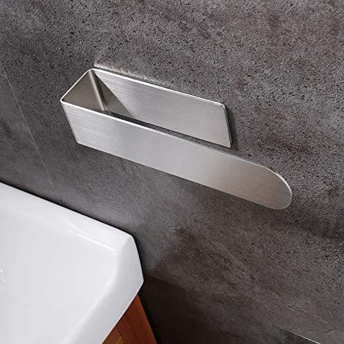 Queta Handtuchhalter Edelstahl Handtuchstange Selbstklebend Ohne Bohren Badetuchhalter für Badzimmer, Küche, Balkonen